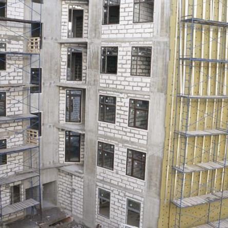 Ход строительства корпуса в ЖК Елагин апарт фото