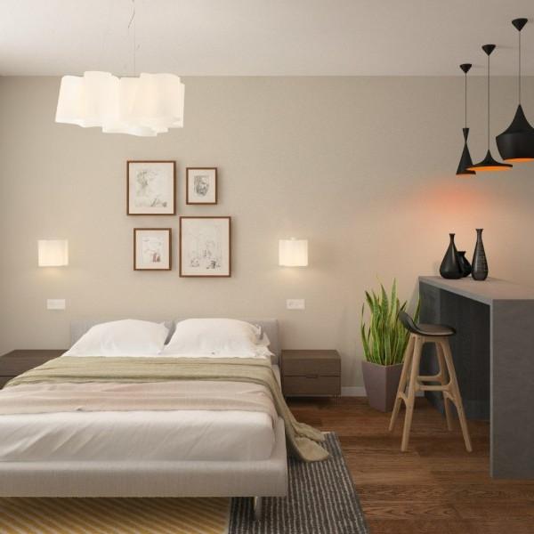 Новостройка Елагин апарт отделка квартир спален